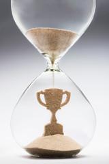 Time is success concept