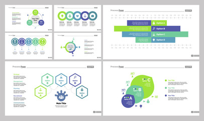 Option and flowcharts design set