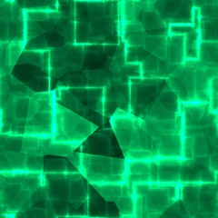 Green cube abstract business technology cyber texture pattern