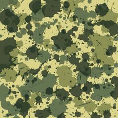 Camouflage Splash grün