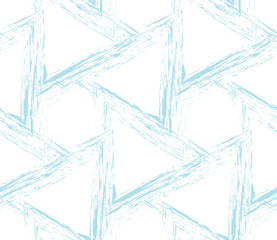 abstract seamless geometric grid vector pattern design