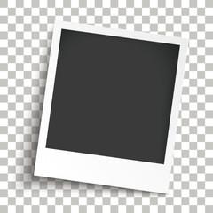 Bevel Instant Photo Transparent Shadows