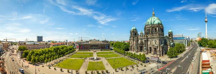 Berliner Dom und Fernsehturm, Panorama, Berlin