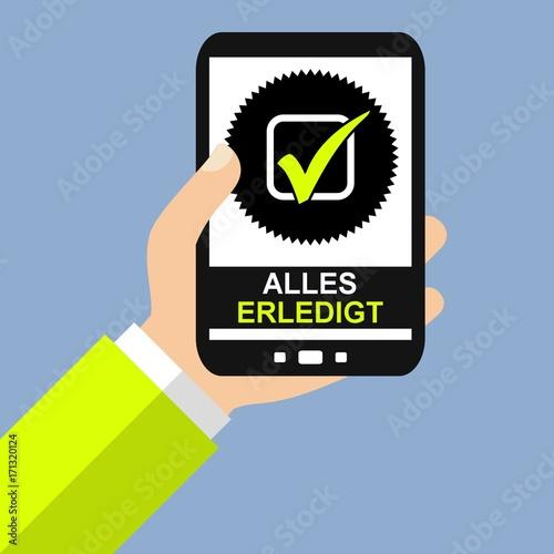 """Verhüten Mit Dem Smartphone: """"Alles Erledigt Mit Dem Smartphone"""" Stockfotos Und"""