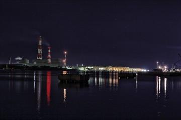工場 夜景