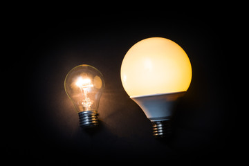 light bulb is classic and economical