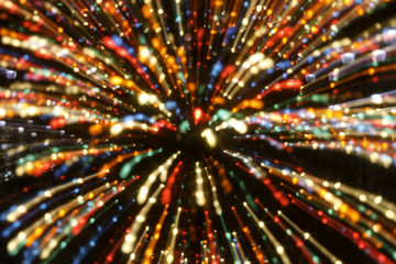 Christmas Lights Abstract Backgrounds