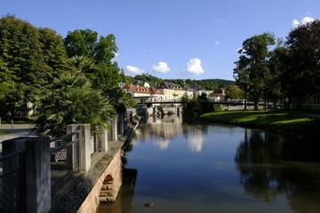 Kurstadt Bad Kissingen, Unterfranken, Bayern, Franken, Deutschland