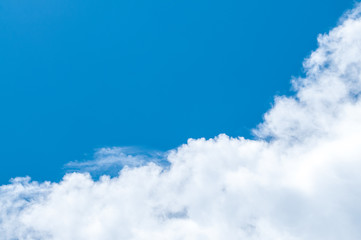 Cloud and blue sky.background