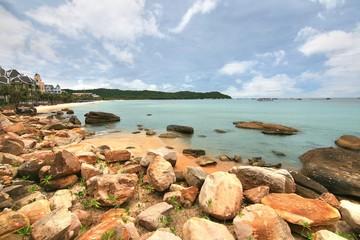The Bai Khem Beach is one of the most beautiful beaches in Phu Quoc Island, vietnam