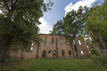 Die Klosterruine in Boitzenburg, Uckermark