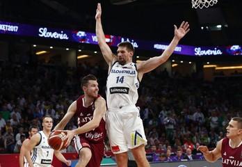 Slovenia v Latvia - European Championships EuroBasket 2017 Quarter Finals