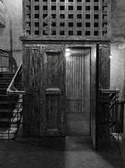 Vintage (old) elevator