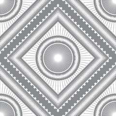 Abstract seamless geometric pattern of many elements.