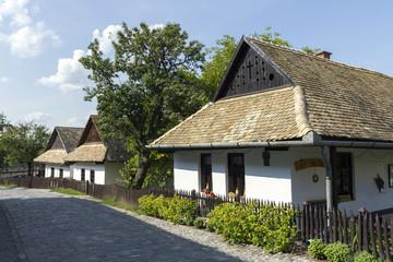Village houses in Holloko