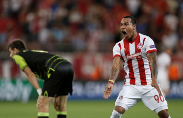 Champions League - Olympiacos vs Sporting CP