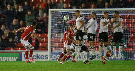 Carabao Cup - Second Round - Barnsley vs Derby County