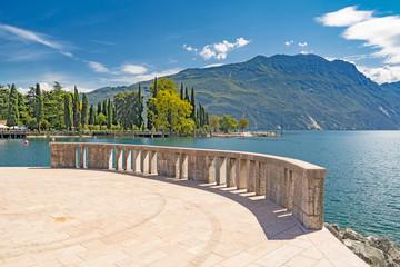 Riva del Garda - lake, Italy Wall mural
