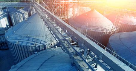 Ventilation silo grain