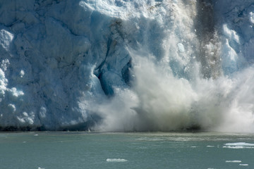 Icefall at Dawes Glacier