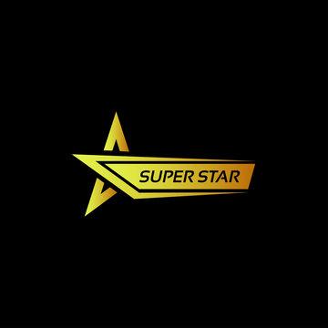 Super Star Bold Logo Vectort