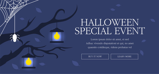 Halloween Day Event Page