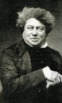 Alexandre Dumas (1802 – 1870), french novelist and playwright