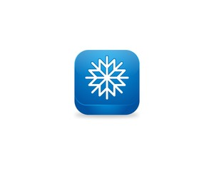Cool, Snow, Button