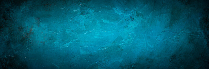 Blue stone background.
