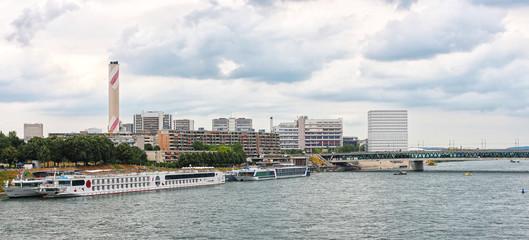 Basel - Dreirosenbrücke - Switzerland -