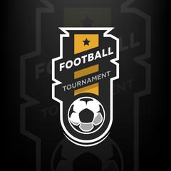 Football tournament logo.