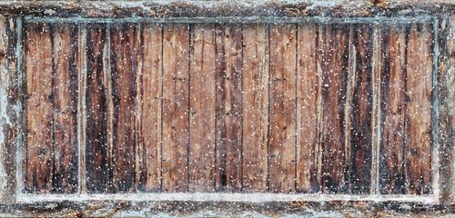 Frozen Winter Background 3D Rendering