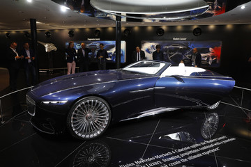 Vision Mercedes-Maybach 6 Cabriolet is displayed during the Frankfurt Motor Show (IAA) in Frankfurt