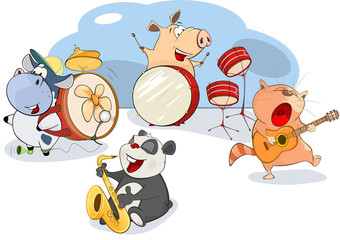 Illustration of The Great Animal Orchestra