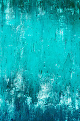 Blue background. Texture painted old grunge metal.