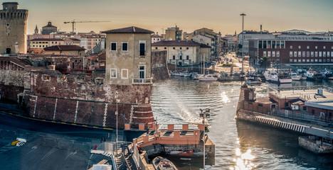 Livorno - The Medicean harbor gateway.