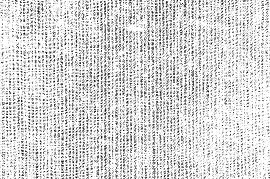 Fabric canvas texture vector overlay