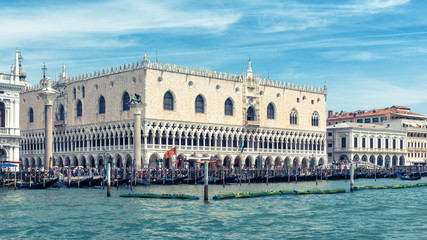 Fototapete - Doge`s Palace in Venice, Italy