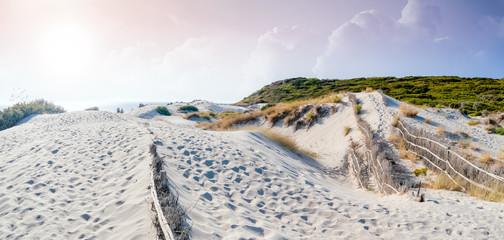 Fototapete - sonnenuntergang strand