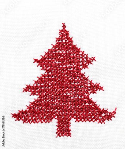 Weihnachtsbaum Strickmuster\