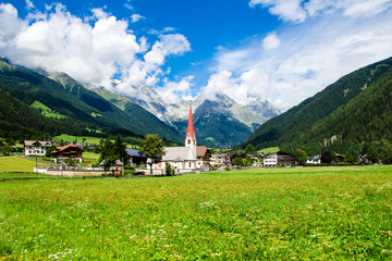 Anterselva di Sotto,  small village in South Tyrol, Italy.