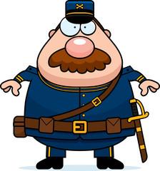 Cartoon Union Soldier Mustache