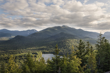 Adirondack Mountains and Heart Lake