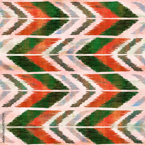 """""""Ethnic Zig Zag Ornament. Chevron Pattern. Boho Style"""