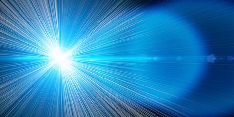 Blauer Laser