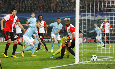 Champions League - Feyenoord vs Manchester City