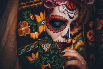 face of muertos