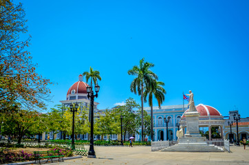 Park in Cienfuegos