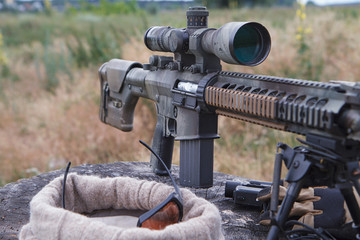 Airsoft sniper rifle