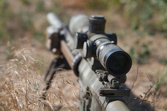 Airsoft sniper rifle III